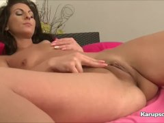 Kim Kelly Fingering Her Tight Pussy