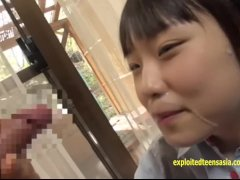 Jav Teen Asami Tsuchiya Gets Her Tiny Pussy Licked Then Gives BJ