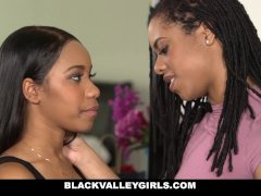 BlackValleyGirls- Hot Ebony Bffs Scissor
