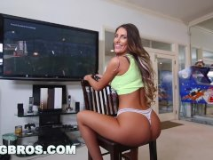 BANGBROS - Video Gamer Chick August Ames Takes A