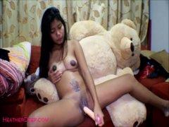 16 week pregnant thai teen heather deep dido creamy squirt alone