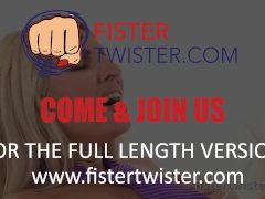 Fistertwister - Tattooed Blonde Fisted