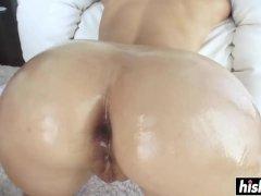 Anikka Albrite gets a raging boner