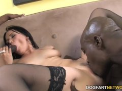 Ally Style Anal And Double Penetration With Black