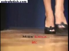 Icequeen Miss Laila's Brutal Foot Worship