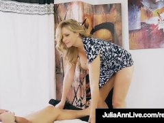 Step Mom Milf Julia Ann Gets A Load On Her Face
