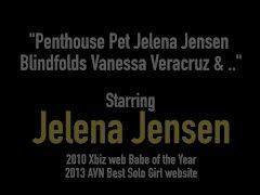Penthouse Pet Jelena Jensen Blindfolds Vanessa Veracruz & ..