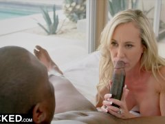 BLACKED Brandi Love Fucks Her Step Daughters BBC