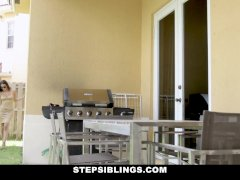 StepSiblings - Stepsister Gives Her Asshole Brother A Lapdance