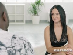 Gina Ferocious goes Black