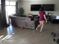 FIT 18 TEEN GIRL GETS HER PUSSY FUCKED LIKE A RABBIT