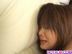 Sayaka Morishita Enjoys Man Meat In The Ass During 3some - More At Hotajp