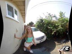 WankzVR - Car Wash Clean Up ft. Kali Roses