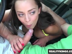 Reality Kings - Curvy teen Liza Del Sierra gets some anal on a boat