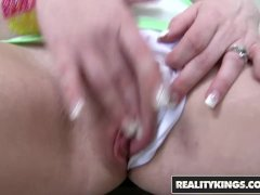 Reality Kings - Amateur babe Monica Rise joins Cum Fiesta for the first