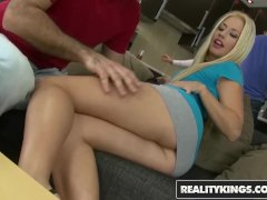 Reality Kings - Euro Swingers Jessie Volt & Alma Blue ass fuck and cock suc