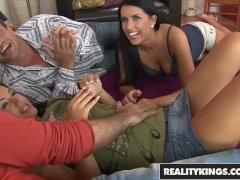 Reality Kings - Euro girls Melissa Ria and Rihanna Samuel fuck two dudes