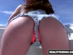 Reality Kings - Brittany Shae - Boats, big butts and ass fucks