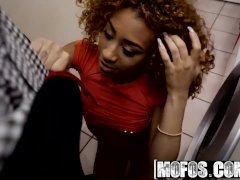 Mofos - Horny ebony teen Kendall Woods Sneaks a Dicking with her white