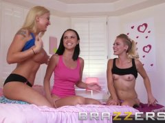 Brazzers - Cute young teen is high socks Dillion Harper gets fucked in the
