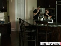 Digital Playground - Cute teen Holly Michaels comes all over big dick