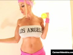 Fit Babes Puma Swede & Carmen Valentina Eat Sweaty Snatch!