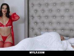 MYLF - Rose Monroe Fucks Her Man On Christmas