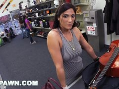 XXX PAWN - Brazilian Cello Player Veronica Lemos Sells Her Body