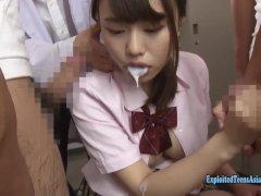 Jav Idol Mizuki Hayakawa Gangbang In Girls Bathroom Cum In Mouth And Fucked