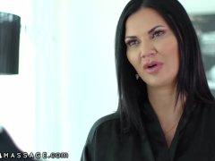 NuruMassage Brit MILF Jasmine Jae Seduces Cop