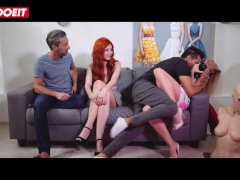 LETSDOEIT - Russian RedHead Babe Gets The Fuck Of Her Life At Porn Casting