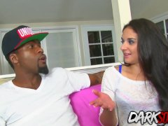 Cheating Black BF Makes It up for Sheena Ryder by Plowing Her Asshole