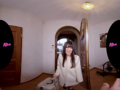 18VRcom Japanese Teen Mai Honda Exploring Your Dick In VR