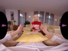 18VRcom Blonde Teen Koko Amaris Hides An Ace In Her Panties