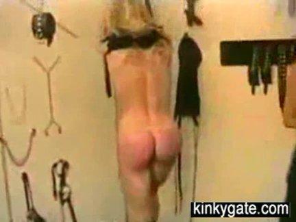 Amateur Vintage BDSM with my slave Milou