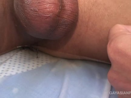 Asians Poi and Nat Piss and Bareback