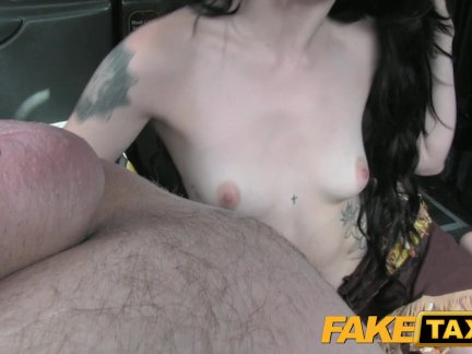 Inked sub fucked roughly after deepthroating 3