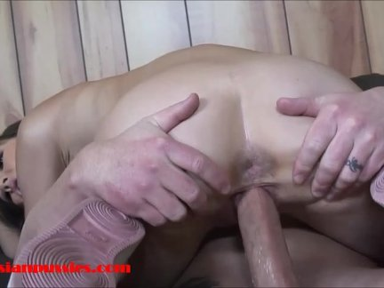 Small tiny asian 18 year old school girl gets