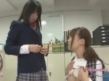 Asian Schoolgirl Makes Teacher Lesbian Pet Part 17