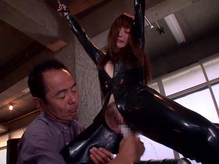 <調教動画>冬月かえで 女潜入捜査官が捕えられ、拘束されて玩具で調教され、さらに肉棒をしゃぶらされて生ハメ!