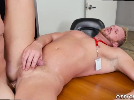 On top gay anal sex movies First day at work