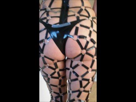 Latex bdsm catsuit Lisa F2S