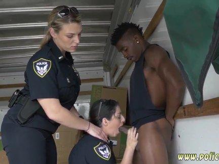 Bitch cop xxx Black suspect taken on a