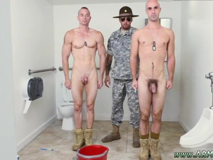 Xxx gay gay army army Good Anal Training