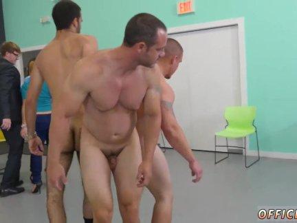 Nude gay men seduces straight men Teamwork