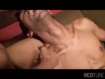 Horny shemale fucks a guy