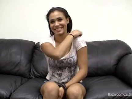 black stripper inseminated on the casting couch