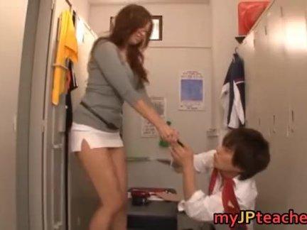 kaori hot japanese teacher getting