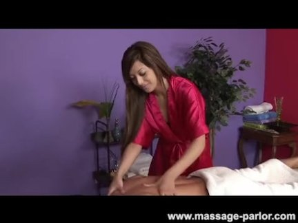 Asian masseuse Swedish tug massage