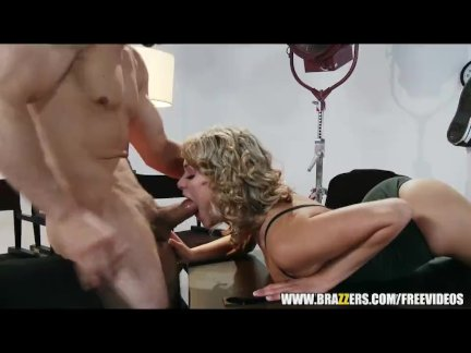 Mia Malkova spreading her legs for her boss - brazzers